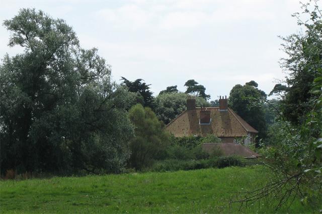 Lower Abbey Farm: rear view