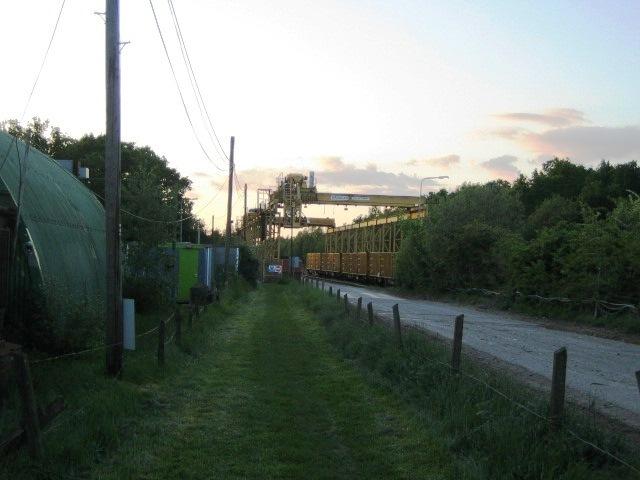 Bridleway, waste transfer station