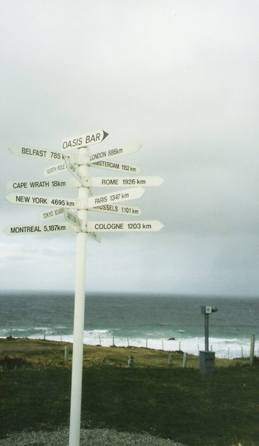 All roads lead from Durness