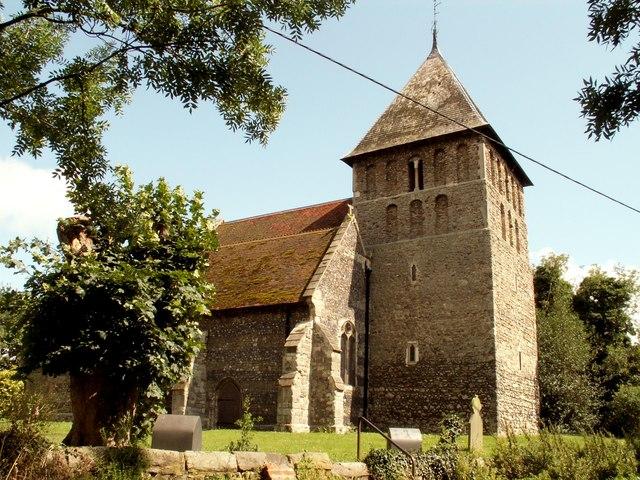 At. Mary's church at Corringham, Essex