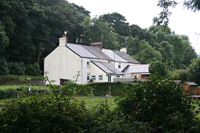 Houses in the Newlyn Valley