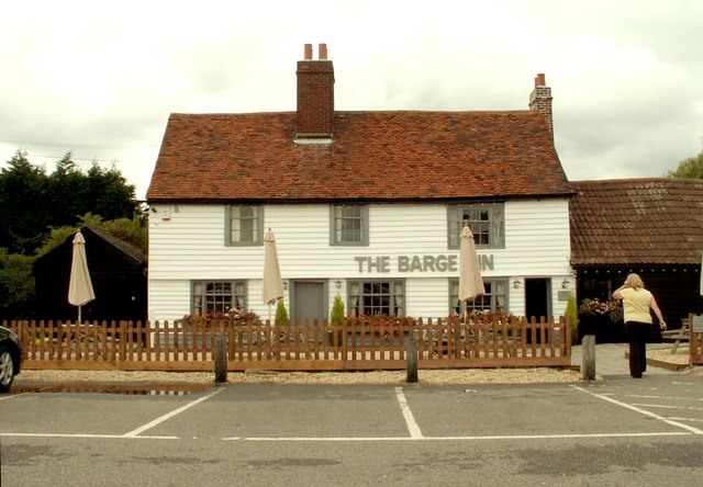 'The Barge Inn' at Battlesbridge