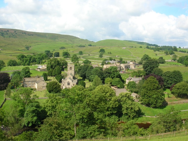 Burnsall across the Wharfe