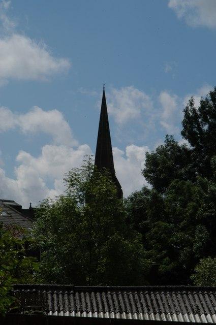 Church steeple Heywood