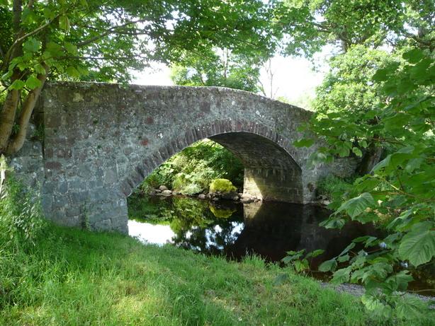 The bridge over The Water of Girvan