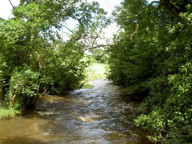 River Alyn.