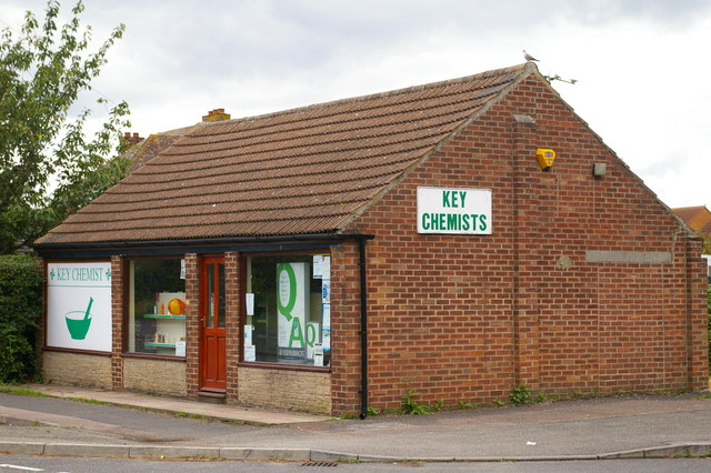 Chemist's shop in Terrington St Clement