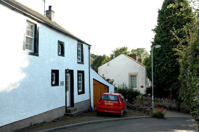 Some of the older houses in High Brigham
