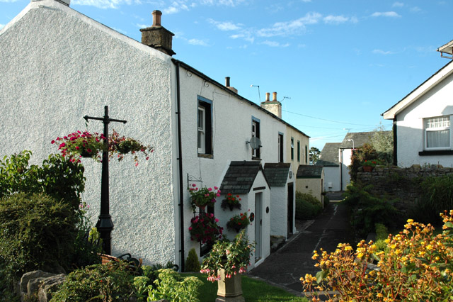 Attractive terrace of houses, High Brigham