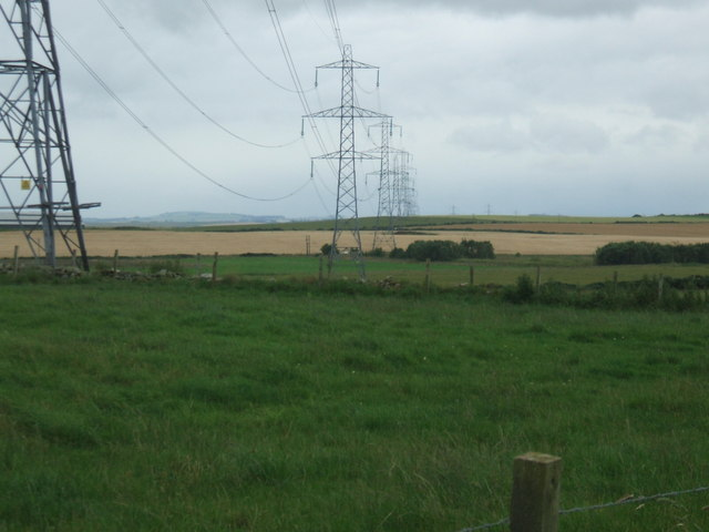 Powerline across the gridsquare