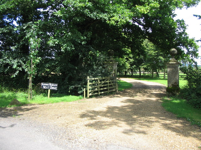 Entrance to Sedgehill Manor