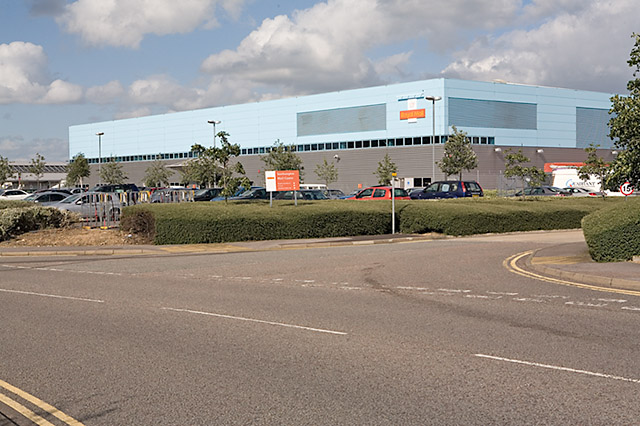 Royal Mail's Southampton Mail Centre, Eastleigh