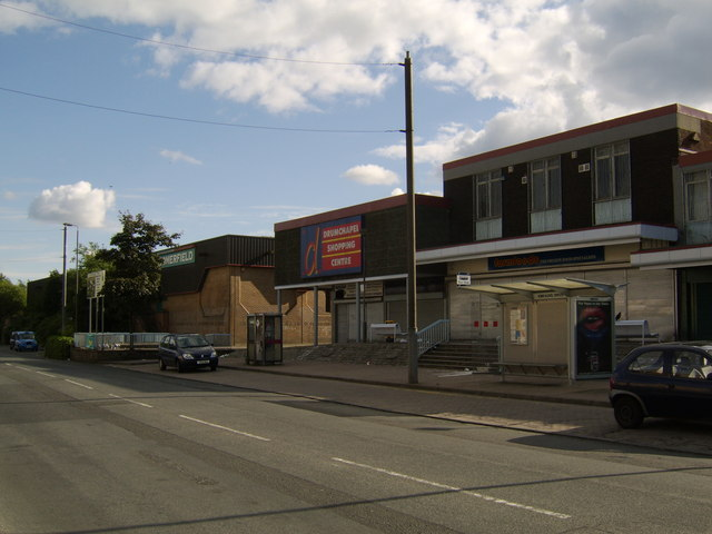 Drumchapel shopping centre