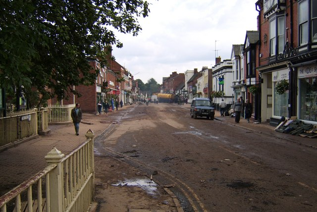 Tenbury Wells Flood Damage