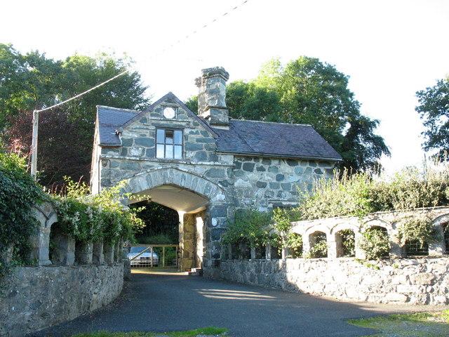 The Nannau Gatehouse at Coed y Moch