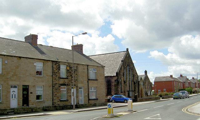 Darfield top chapel.