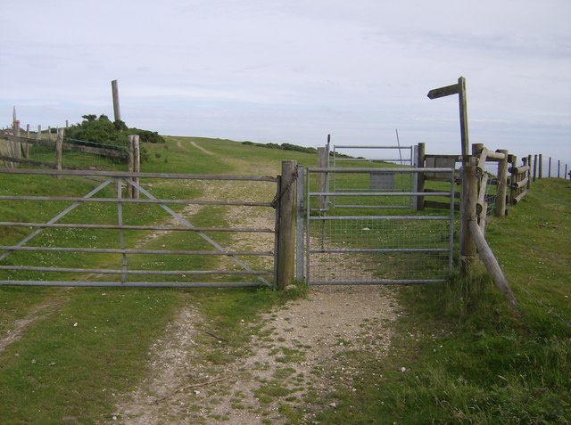 Entrance to Limerstone Down