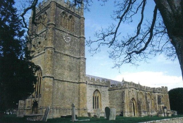 Bradford Abbas: parish church of St. Mary
