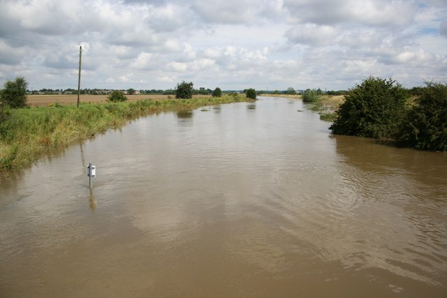 River Witham in flood