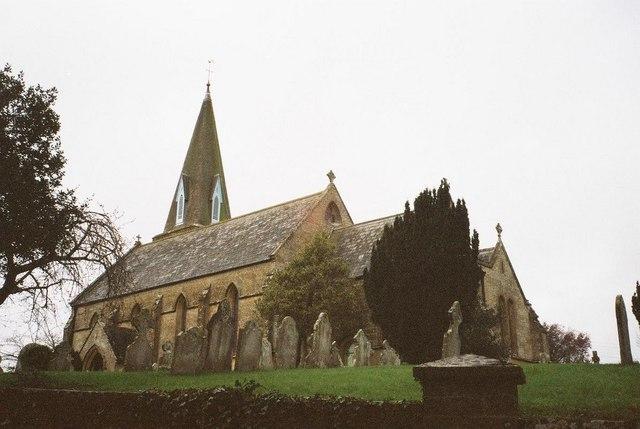 Bradpole: parish church of the Holy Trinity