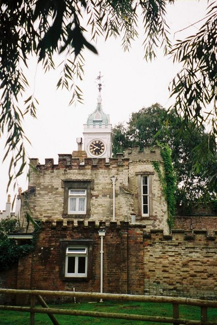 Clock tower on Brownsea Island