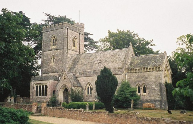 Brownsea Island: church of St. Mary