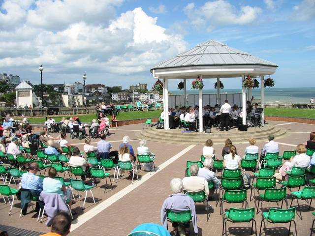 The bandstand at Broadstairs