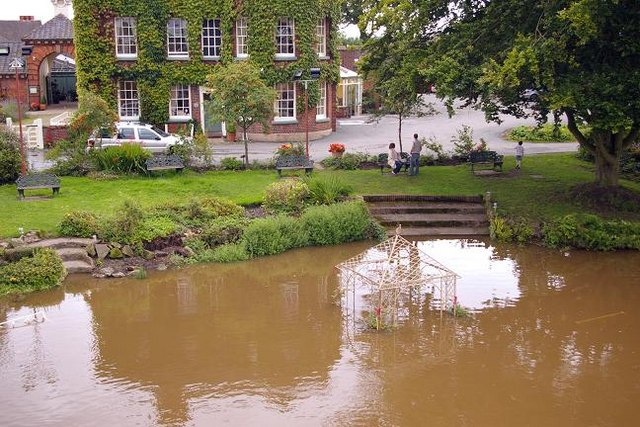 Flooding at Atcham 4