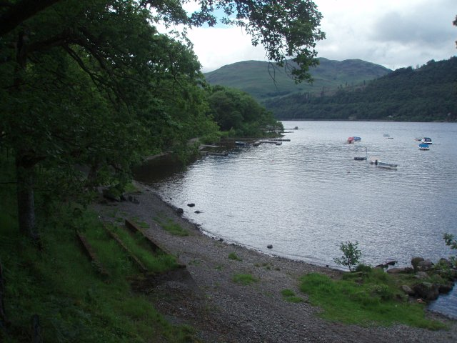 Small bay, Loch Earn