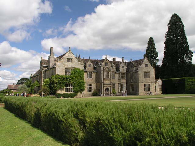 Wakehurst Place seen from the lower lawn