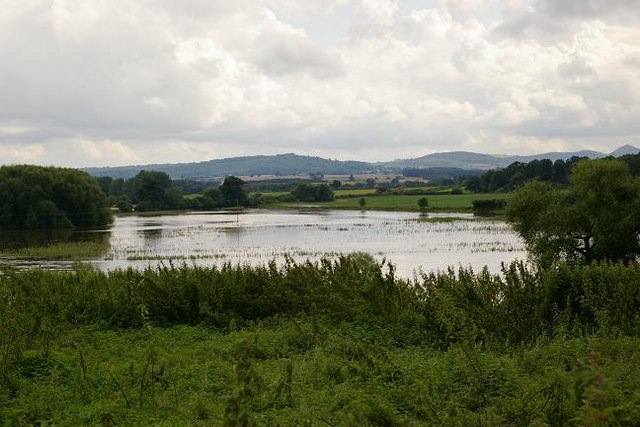 Flooding in Wroxeter