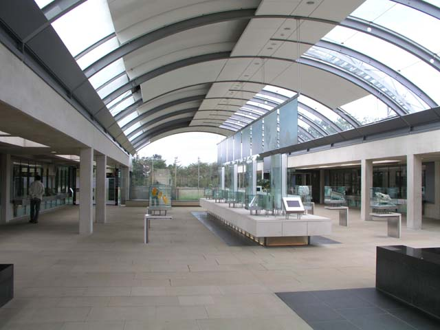 Millennium Seed Bank visitor hall