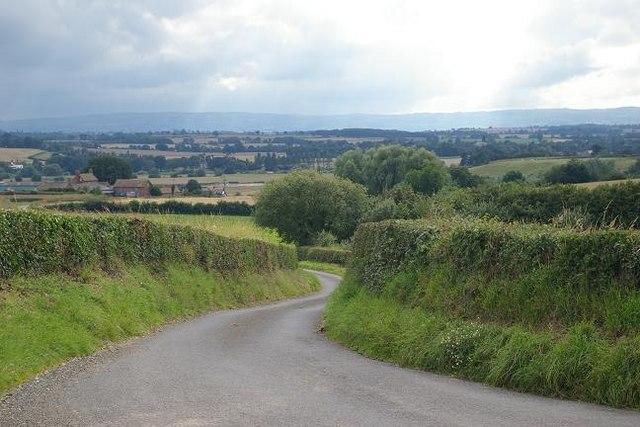 View towards Dryton