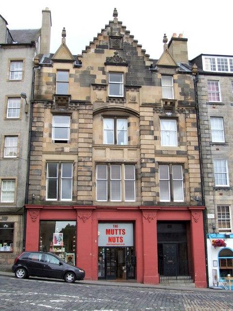 Shop on West Bow, Edinburgh