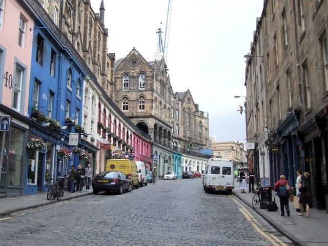 West Bow to Victoria Street, Edinburgh