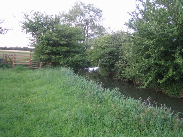 Padbury Brook near Three Bridge Mill