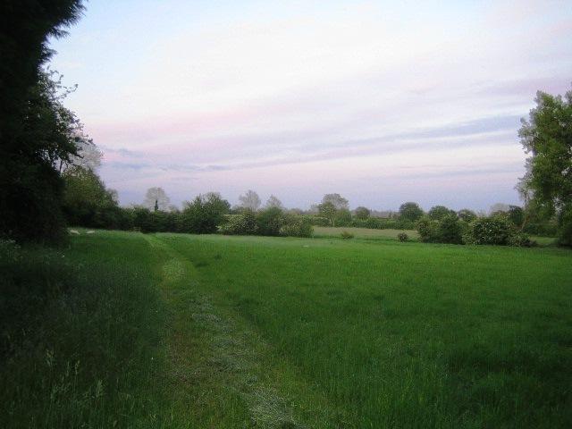 Footpath near Three Bridge Mill, Twyford