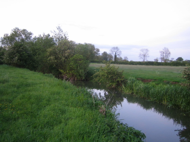 Padbury Brook near Three Bridge Mill, Twyford