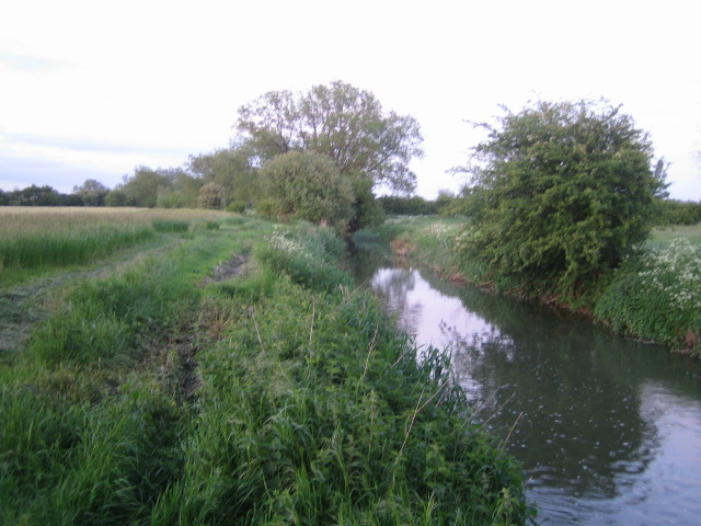 Padbury Brook near Three Bridge Mill, Twyford 2