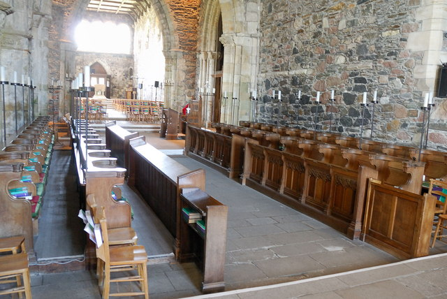 Iona Abbey - nave