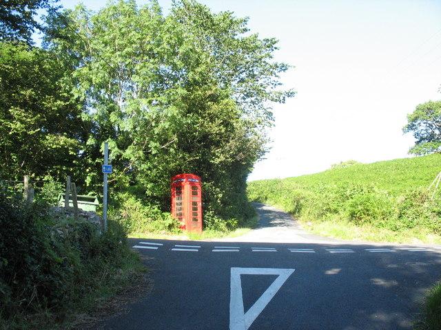 Groeslon Coed Garw Crossroads