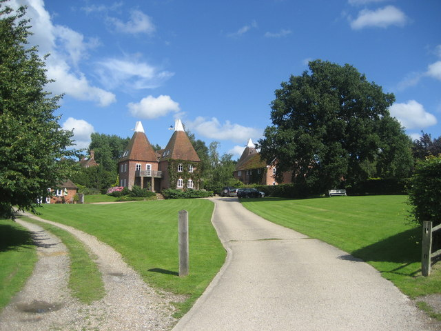 Oast Houses at Three Chimneys Farm, Bedgebury Road, Goudhurst, Kent