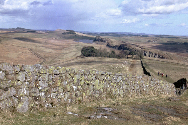 Hadrian's Wall near Winshield Crags