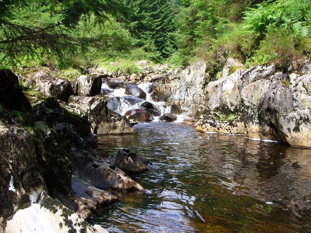 Waterfall on the Penkiln Burn