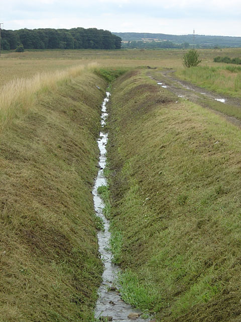 Drainage ditch on Hunster Flat