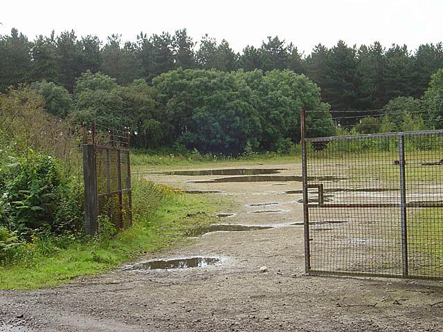 Waste ground off High Common Lane