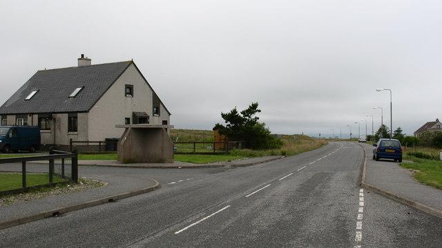 A866 at Sulaisiadar
