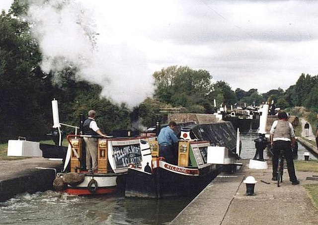 2003 : President and Kildare at Hatton Locks