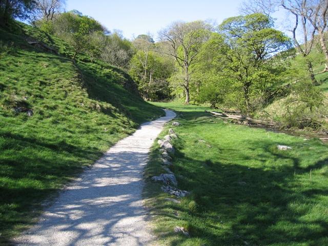 Footpath by Gordale Beck