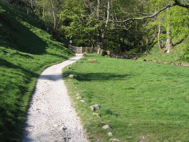 Footpath to Janet's Foss